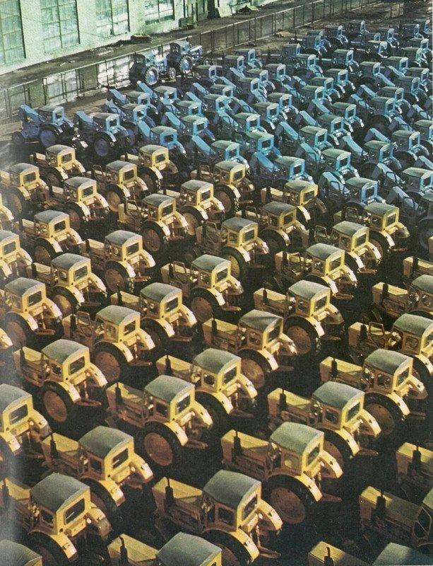 Липецкий тракторный завод, 1982 год