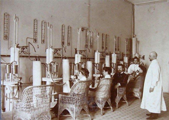 Кабинет для ингаляции, 1913 год, Санкт-Петербург