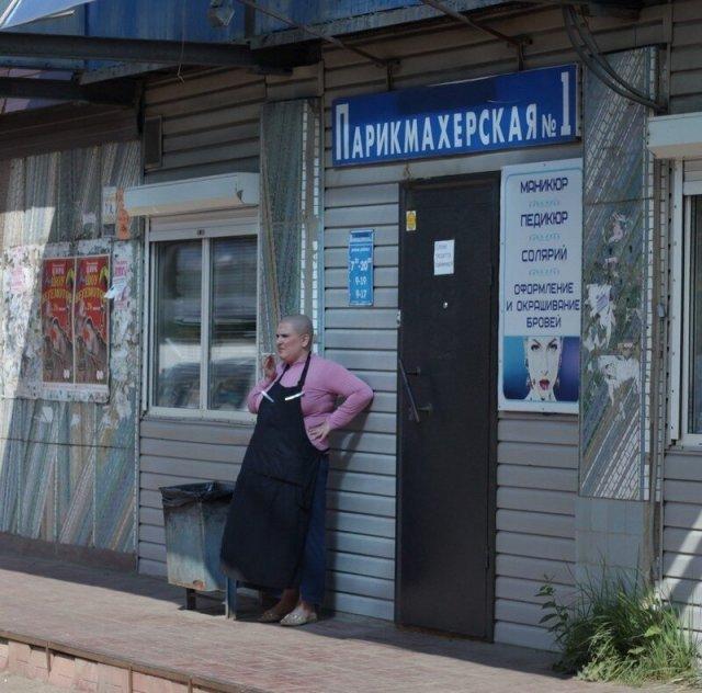 """""""Лучшие"""" парикмахерские с просторов России"""
