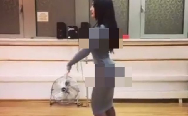 В соцсетях девушку осуждают за хорошую фигуру и обтягивающее платье