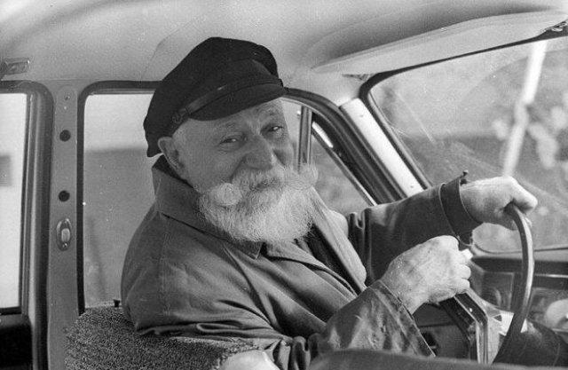 Московский таксист Александр Стешанов