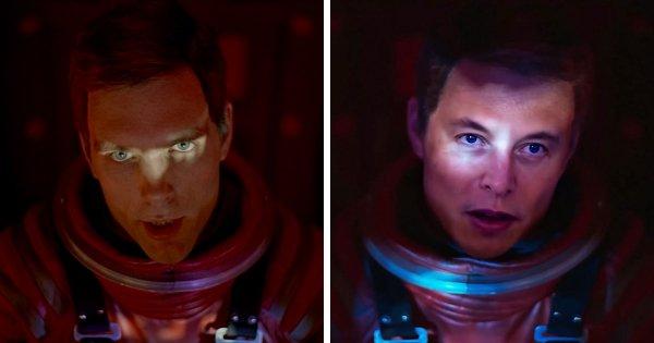 Илон Маск в Космической одиссее