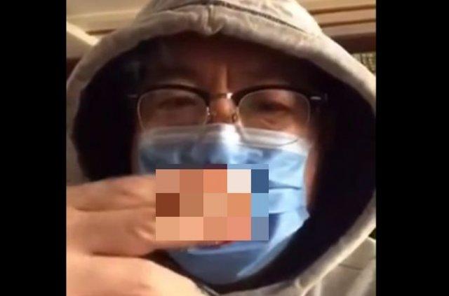 Медицинская маска для людей с вредными привычками
