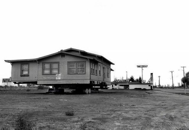 Перевозка целых викторианских домов в 1970-е
