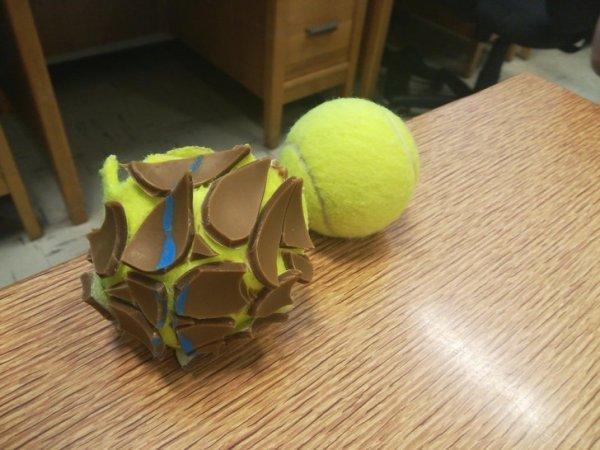 Belső teniszlabda