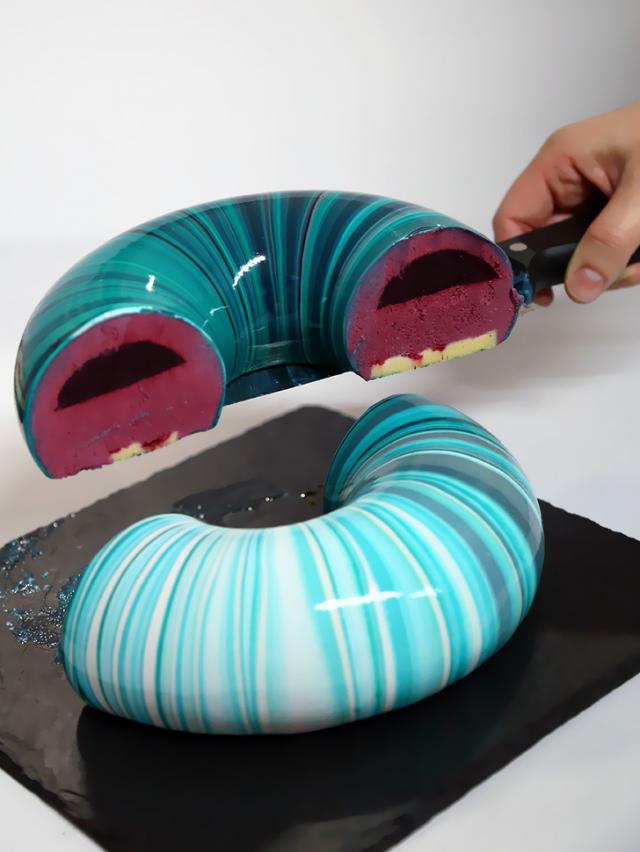Ez a sütemény nem csak kívülről, hanem belülről is tökéletes.