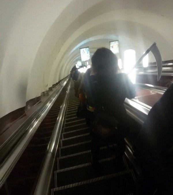 Модные и странные люди из метро