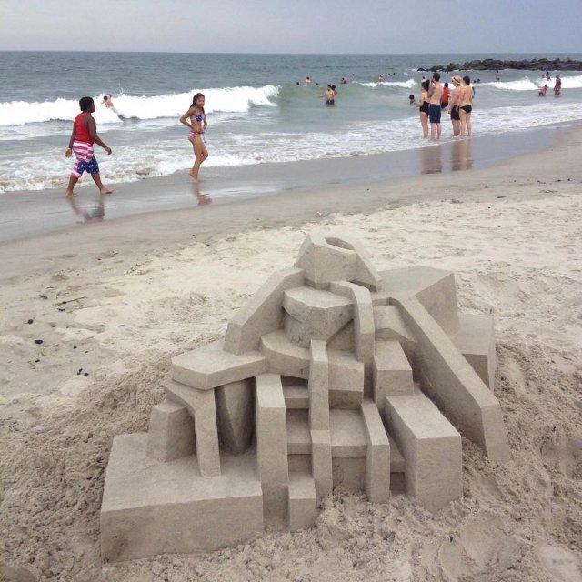 Замки из песка Келвина Сейберта