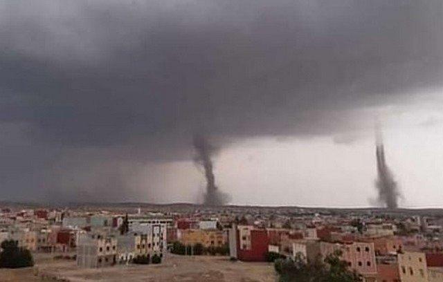 Торнадо в Марокко