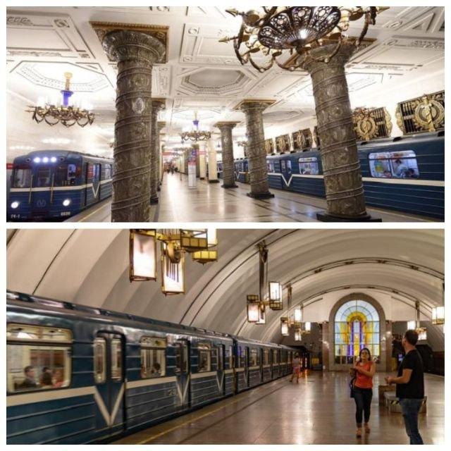 Сотрудники петербургского метро поделились интересными фактами о своей работе (9 фото)