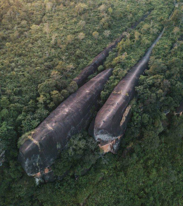 Скалы-киты, Таиланд