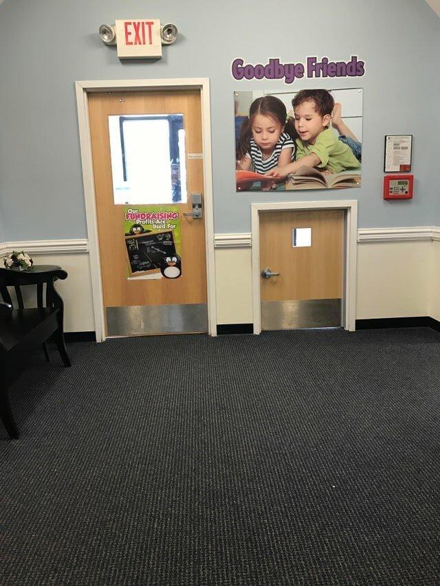 Дверь для детей