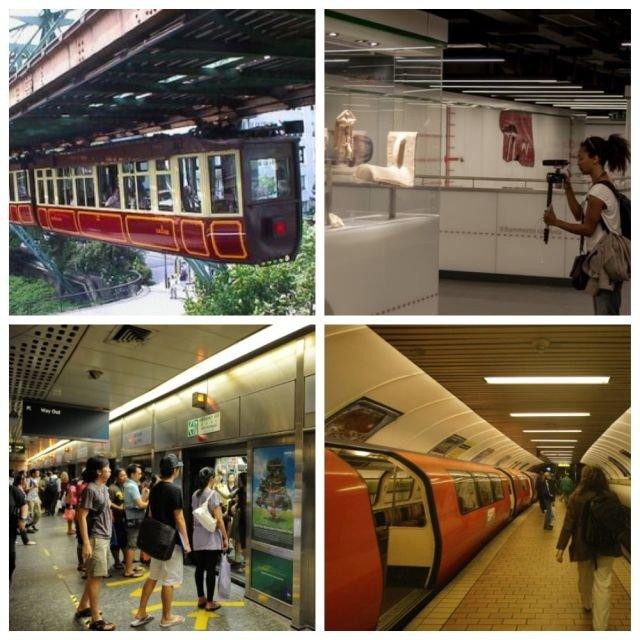 Интересные факты о метро в разных странах мира (9 фото)