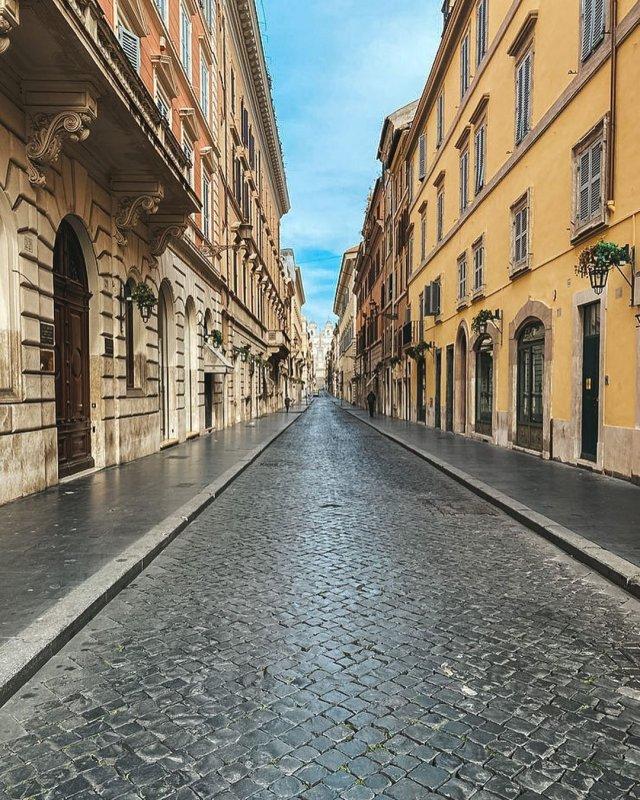 Рим превратился в город-призрак