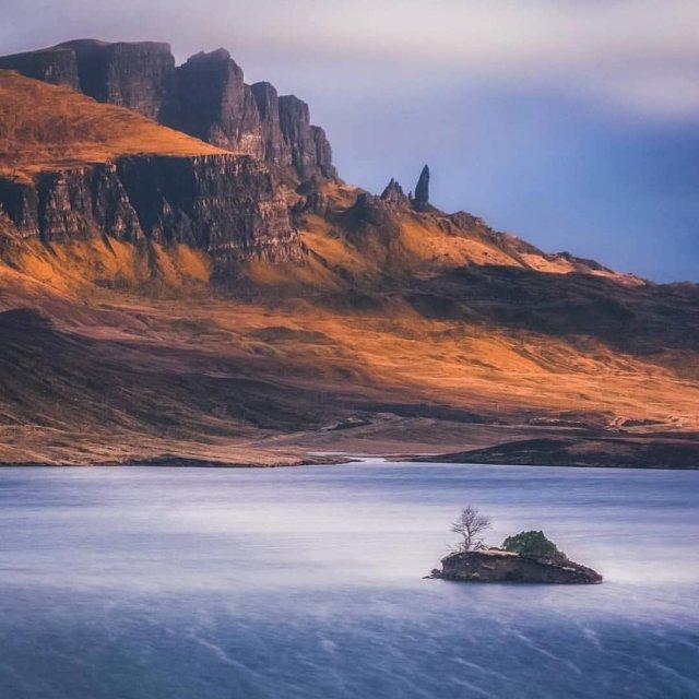 Пейзажи острова Скай