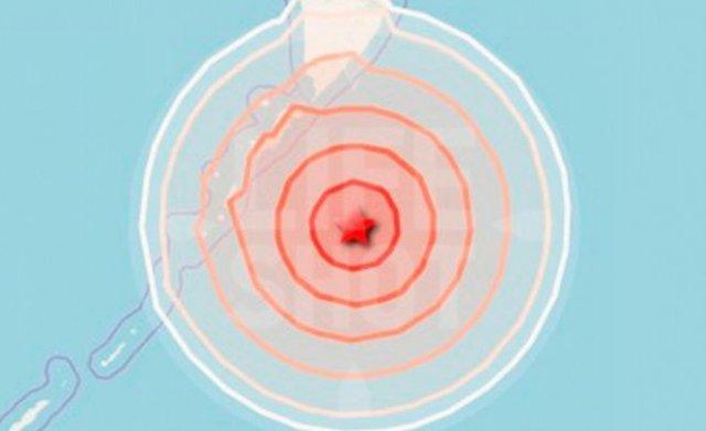 У северных Курил произошло сильное землетрясение