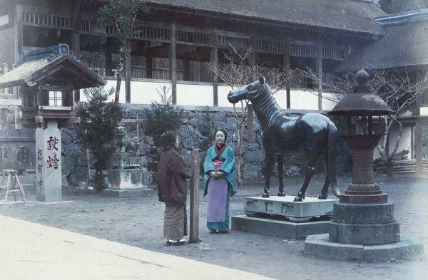 Подборка редких фотографий Японии середины XIX века