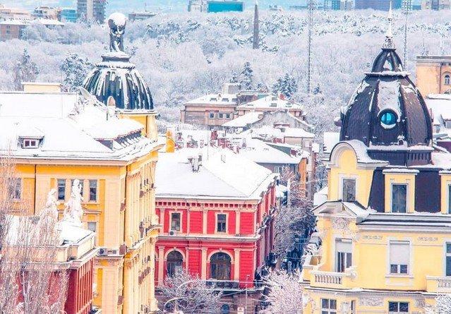 В Европе выпал снег в конце марта