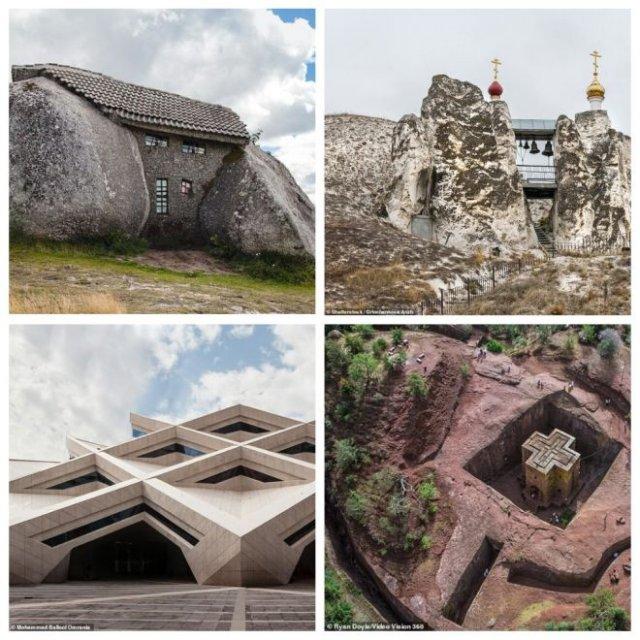 Самые странные и необычные дома из камня (7 фото)