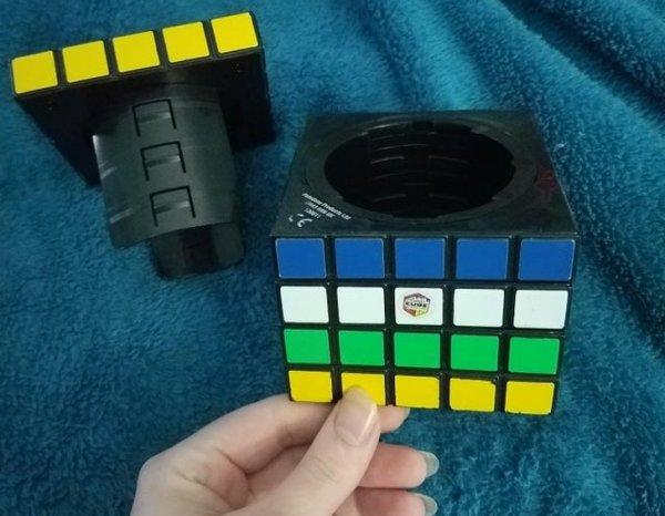Сейф, встроенный в кубик Рубика