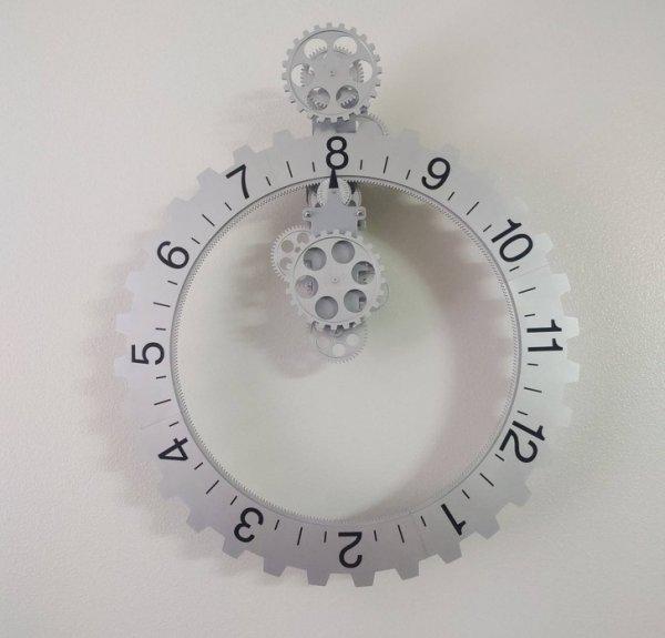 Часы, в которых вращаются цифры, а не стрелки