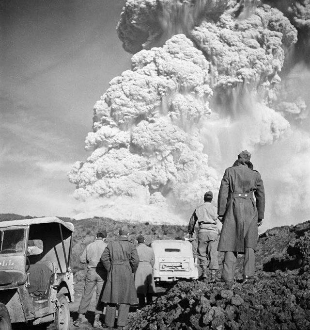 Последнее извержение вулкана Везувий