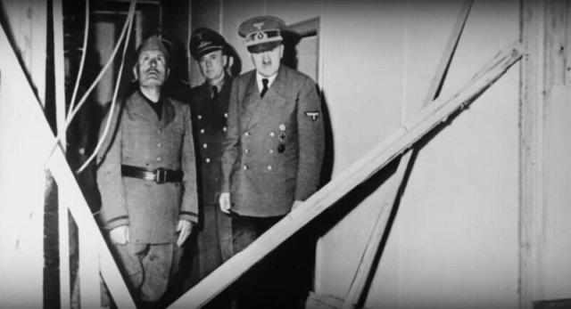 Гитлер после покушения
