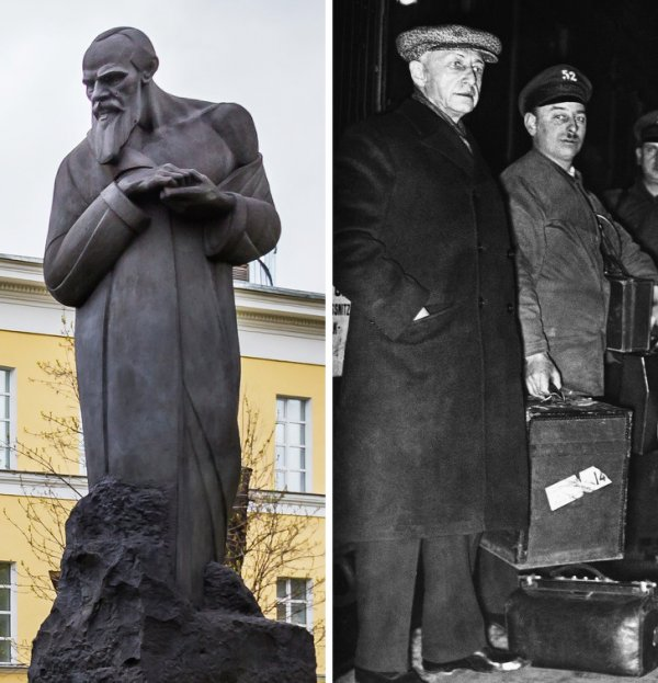 Федор Достоевский и Иван Бунин