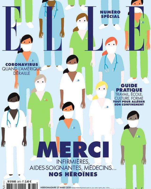 обложки мировых изданий в эпоху коронавируса
