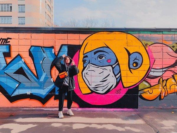Граффити из Москвы