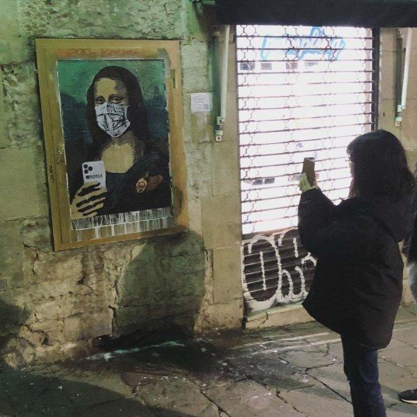 Работы уличного художника Tvboy