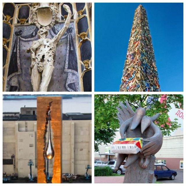 Подборка странных памятников и скульптур, которые создали очень остроумные люди (10 фото)