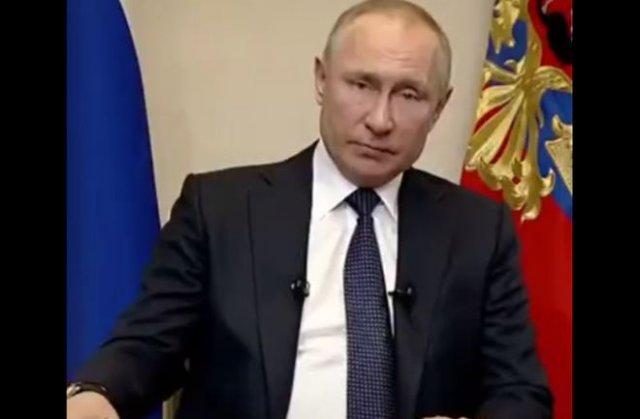 Коротко и ясно: вот так должна была выглядеть речь Путина