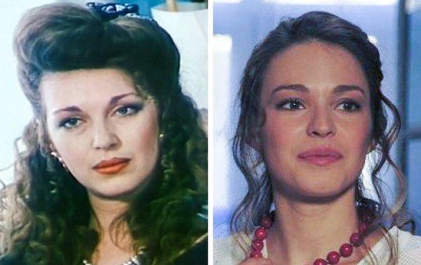 Татьяна Лютаева и дочь Агния Дитковските (27 лет)