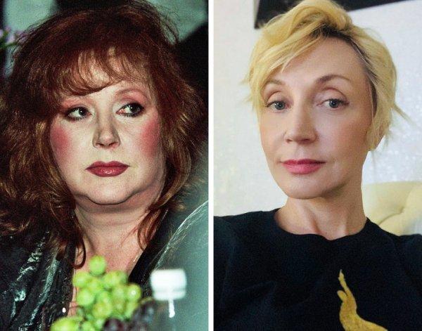 Алла Пугачева и дочь Кристина Орбакайте (48 лет)