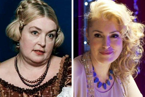 Лидия Федосеева-Шукшина и дочь Мария Шукшина (46 лет)