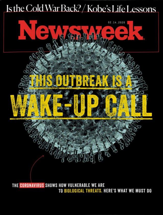 Обложки мировых СМИ о коронавирусе