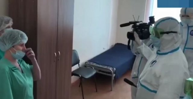 Сравнение защиты губернатора Псковской области и обычных сотрудников больницы