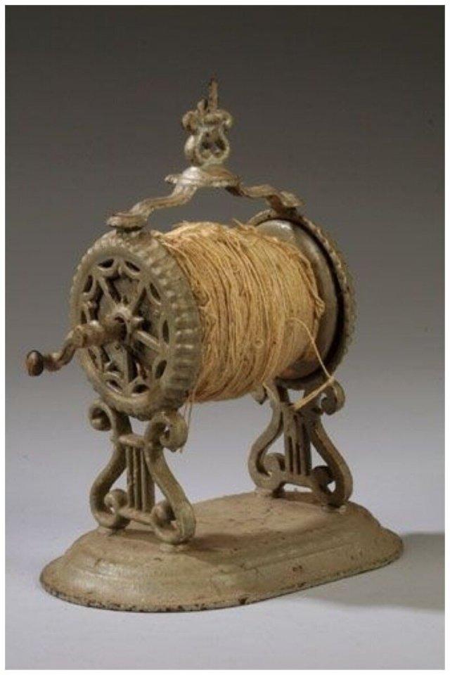 Механическое устройство для наматывания шерсти