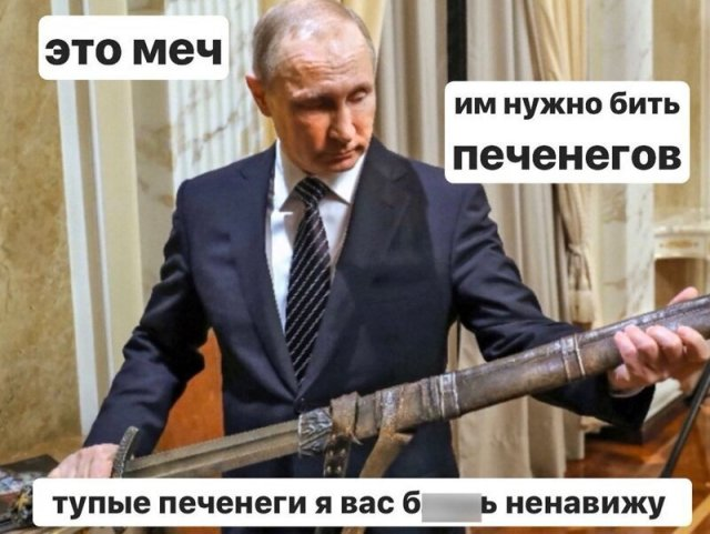 Реакция россиян на речь Владимира Путина про печенегов и половцев