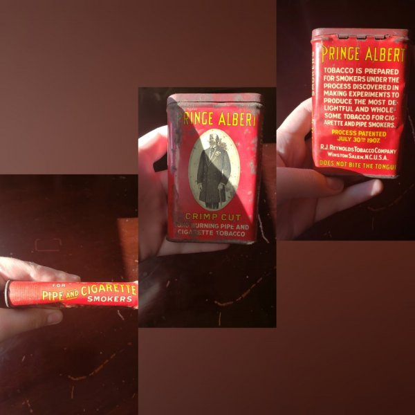 Нашел банку с табаком, которой уже 113 лет