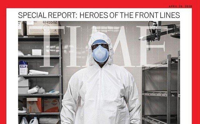 Обложки мировых СМИ в эпоху коронавируса
