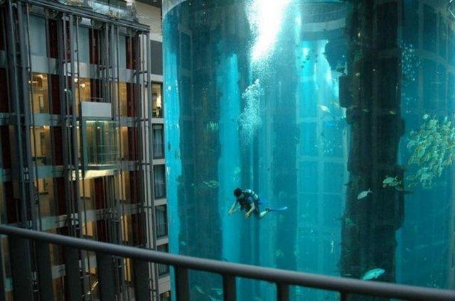 Необычная шахта лифта