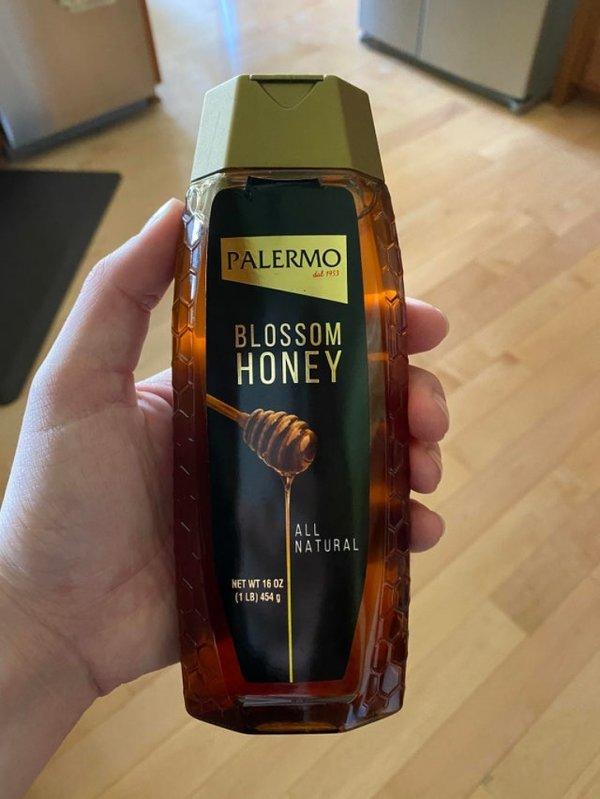Да, это не шампунь. Это мед