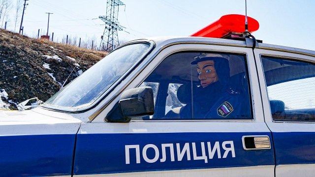На дороге Хабаровск - Комсомольск ДПСником стал персонаж комиксов