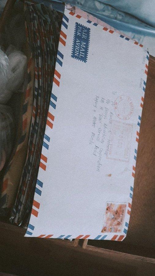 Нашел целую гору писем, которые писали друг другу мои родители