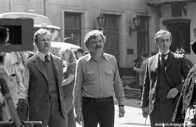 Архивные фотографии со съемок популярных советских фильмов