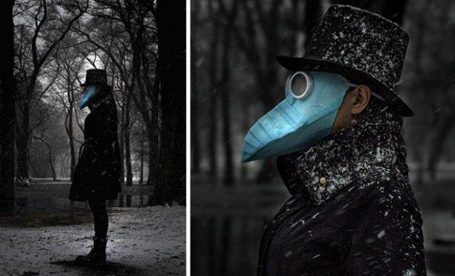 Люди, которые вывели медицинские маски на новый уровень