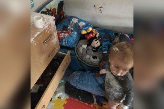 Детские шалости во время карантина