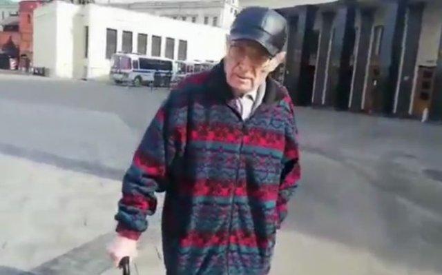 Дед, который не любит русских